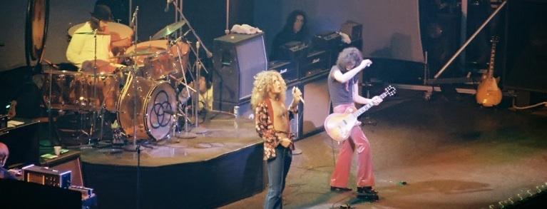 led Zeppelin Chicago 1975