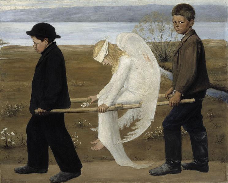 The Wounded Angel - Hugo_Simberg
