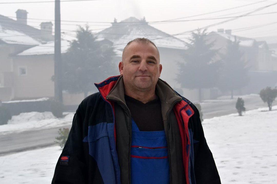 Plumber and Community leader, Prshovce Rural Communities Culture