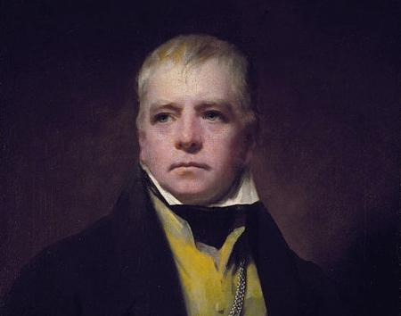 Raeburn - Walter Scott (Detail)