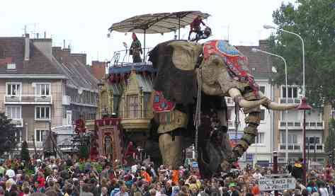 Royal de Luxe Calais