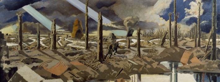 Paul Nash, The Menin Road