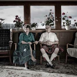 Sandy May and Vi May, Buchan Heritage Society