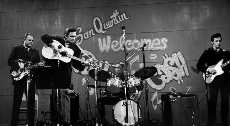 Johnny Cash At San Quentin 2