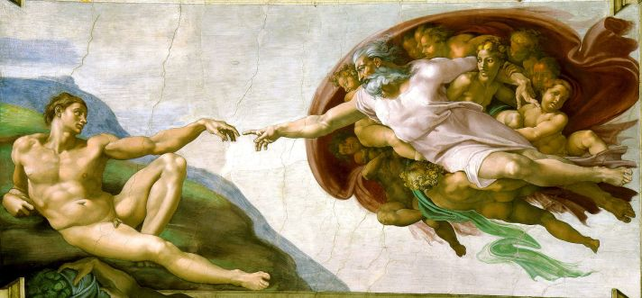 Michelangelo Sistine Chapel (Wikipedia)