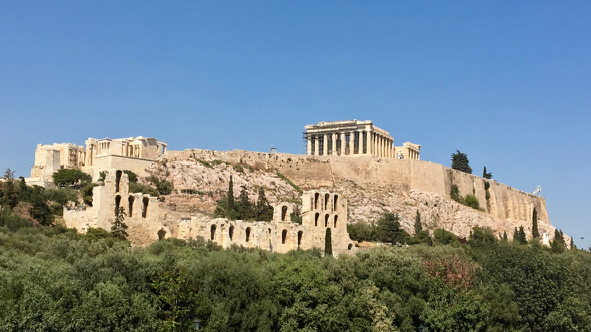 Acropolis from Dionysos Zonar's